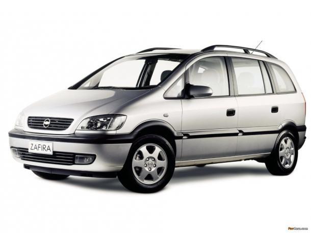 EVA коврики на Opel Zafira А1999 - 2005