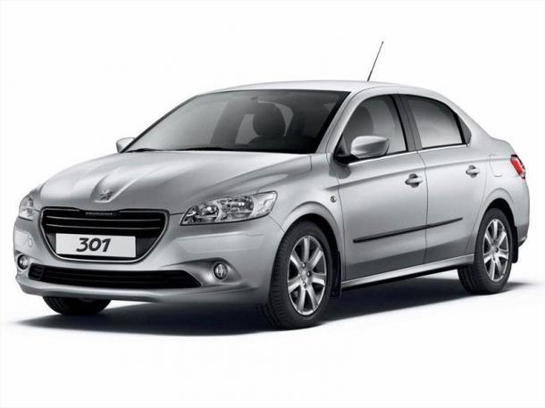 EVA коврики на Peugeot 301 2012 - наст. время