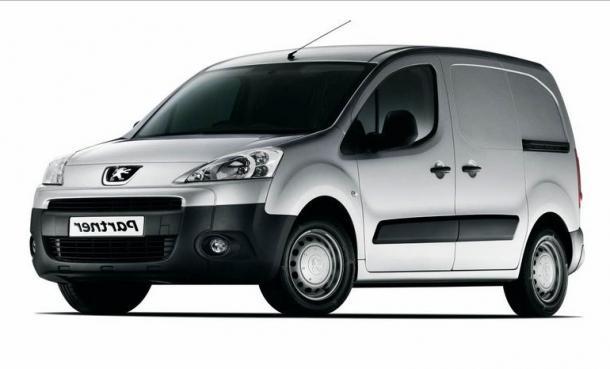 EVA коврики на Peugeot Partner II 2008 - 2018