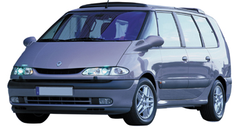 EVA коврики на Renault Espace III 1997-2003