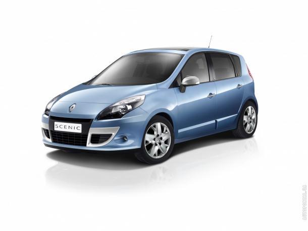 EVA коврики на Renault Scenic III 2011 - наст. время