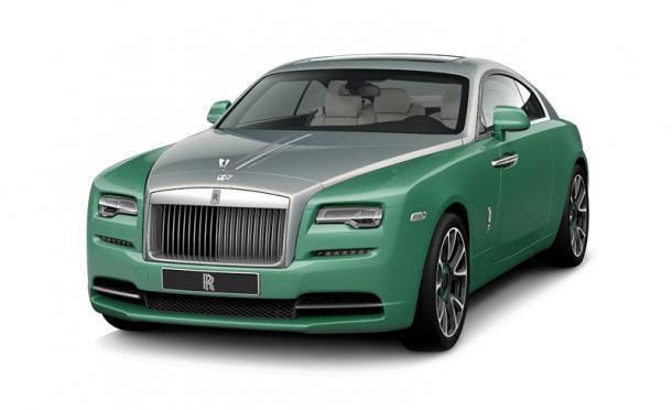 EVA коврики на Rolls Royce Wraith (2013->) салон