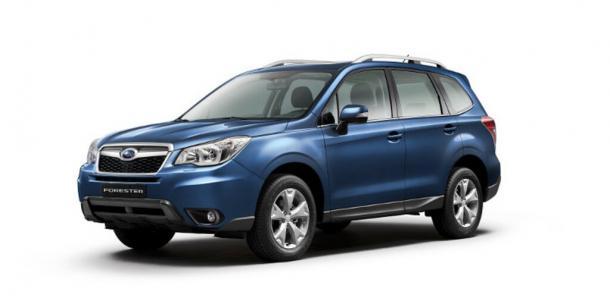 EVA коврики на Subaru Forester V 2018 - наст. время
