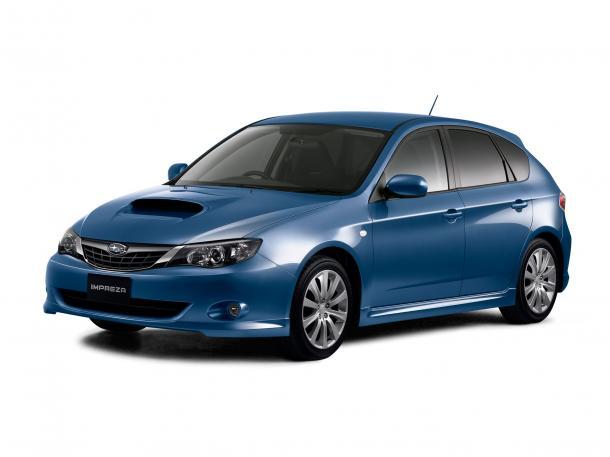 EVA коврики на Subaru Impreza III 2007 -2011