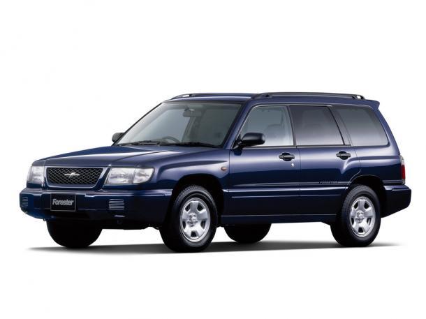 EVA коврики на SubaruForester I 1997 - 2002 (правый руль)