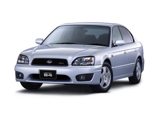 EVA коврики на SubaruLegacy III (правый руль) 1998 - 2003
