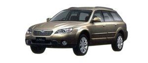 EVA коврики на SubaruOutbackIII 2003 - 2009