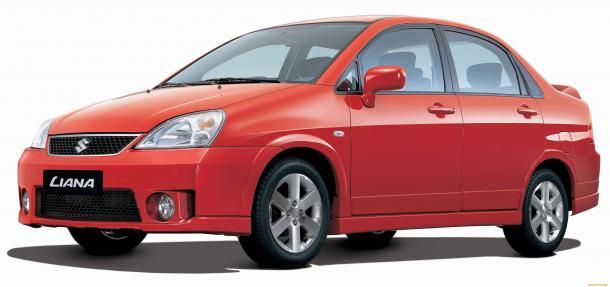 EVA коврики на Suzuki Liana I 2001 - 2008