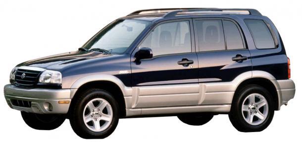EVA коврики на SuzukiGrand VitaraII рестайл (5-и дверный)2001 - 2005