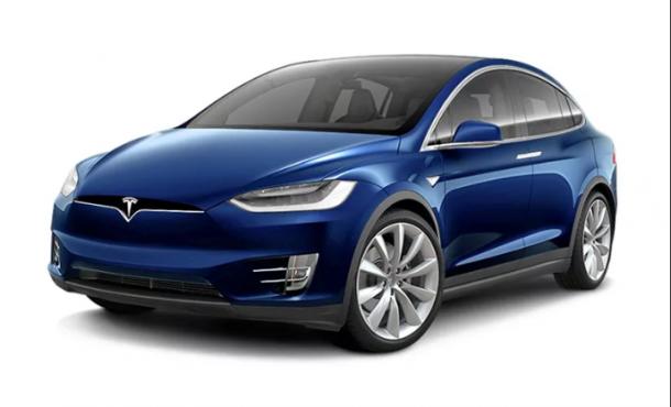 EVA коврики на Tesla Model X