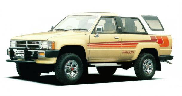 EVA коврики на Toyota 4Runner I 1984-1989