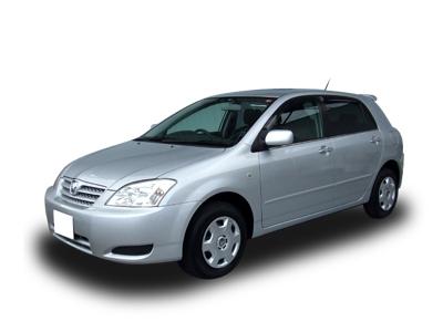 EVA коврики на Toyota Allex 2001 - 2006
