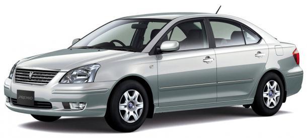 EVA коврики на Toyota Allion/Premio I (правый руль) 2001 - 2007