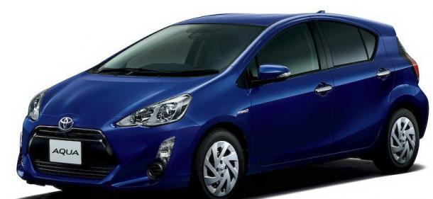 EVA коврики на Toyota Aqua (2011-2014)