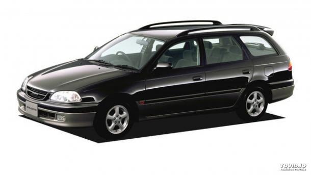 EVA коврики на Toyota Caldina II (правый руль) 1997 - 2002