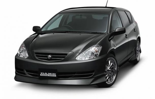 EVA коврики на Toyota Caldina III (T240) (правый руль) 2002 - 2007