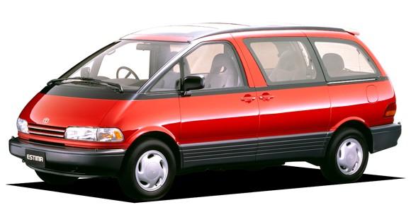 EVA коврики на Toyota Estima I 1990-2000 7 мест