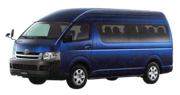 EVA коврики на Toyota HiAce (H 200) 2004-2010 (левый руль)