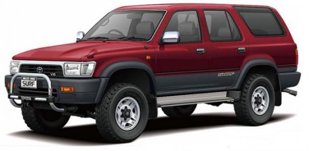 EVA коврики на Toyota Hilux Surf IV пр.руль (2002-2009)