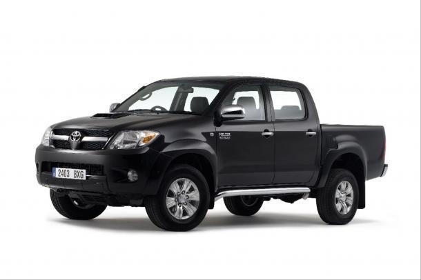 EVA коврики на Toyota Hilux VII 2006 - 2015