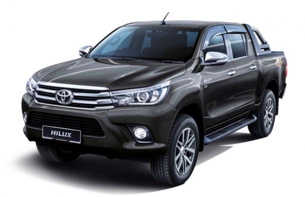 EVA коврики на Toyota Hilux VIII 2015 - наст. время