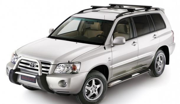 EVA коврики на Toyota Kluger (правый руль) 2000 - 2007