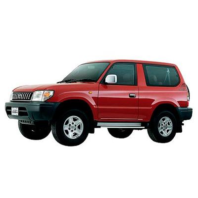 EVA коврики на Toyota Land Cruiser Prado 90 3D (1996-2002) салон