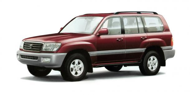 EVA коврики на Toyota Land Cruzer 100 1998 - 2007 (правый руль)