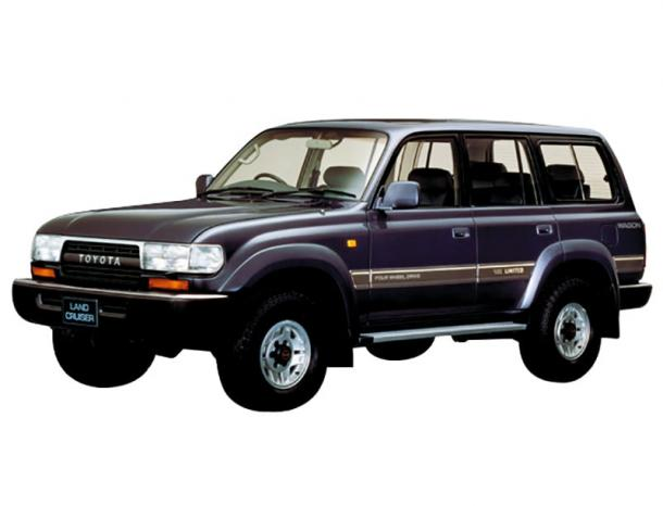 EVA коврики на Toyota Land Cruzer 80 (правый руль) 1989 - 1997