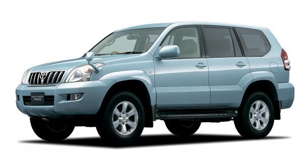 EVA коврики на Toyota Land Cruzer Prado 120 (правый руль) 2002 - 2009