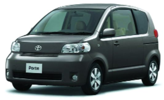 EVA коврики на Toyota Porte I (2004-2012) салон правый руль