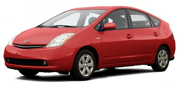 EVA коврики на Toyota Prius (NHW20, левый руль) 2004 - 2009