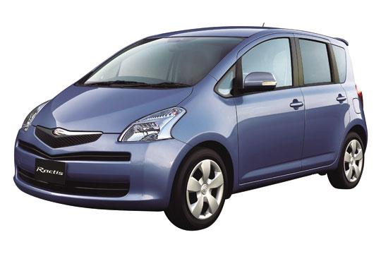 EVA коврики на Toyota Ractis I (правый руль) 2005 - 2010