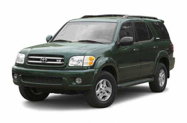 EVA коврики на Toyota Sequoia I 2000 - 2007