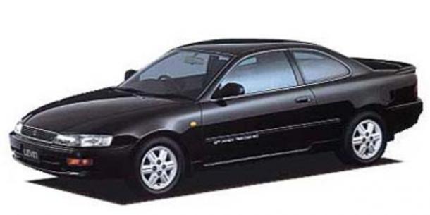 EVA коврики на ToyotaCorolla/Levin (E100, правый руль) купе 1992 - 1997