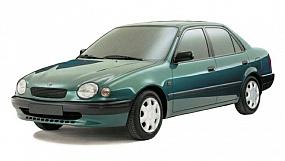 EVA коврики на Toyota Corolla (E110) 1995 - 2002 (левый руль)