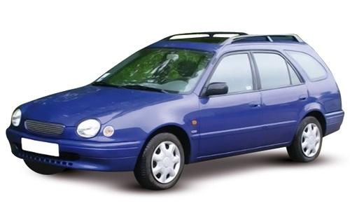 EVA коврики на ToyotaCorolla(E110) 1997 - 2001 (правый руль)