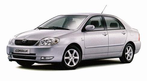 EVA коврики на Toyota Corolla (E120, E130) 2000 - 2007