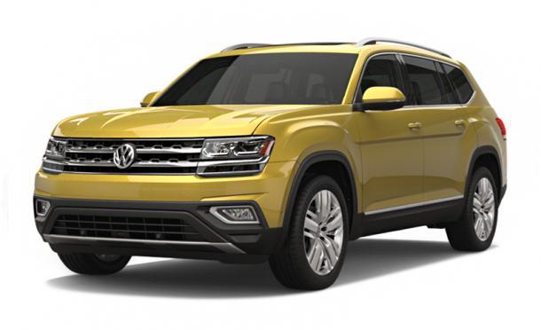 EVA коврики на Volkswagen Teramont 2018-
