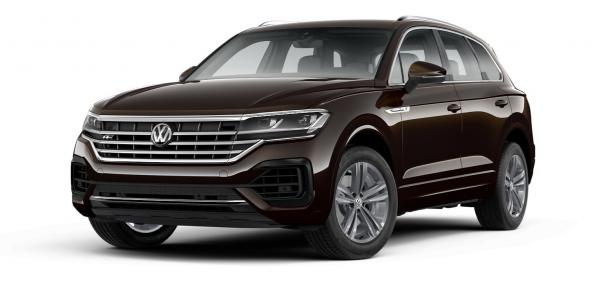 EVA коврики на Volkswagen Touareg 2018 - наст. время