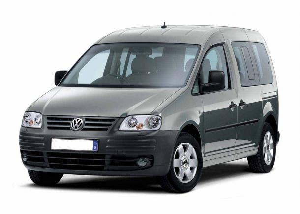 EVA коврики на Volkswagen Caddy 2004 - 2015 (1 боковая дверь)