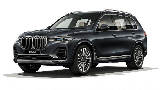 EVA коврики на BMW X7 2019- наст.время