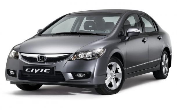 EVA коврики на Honda Civic VIII (седан) 2005 - 2011 (Турок)