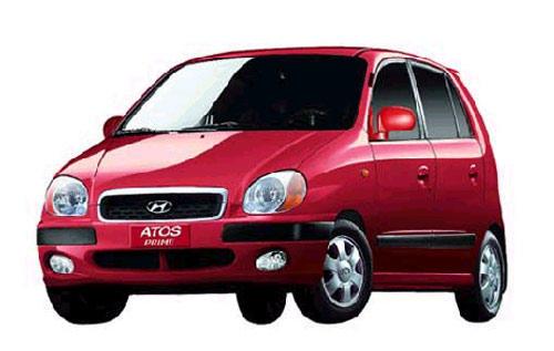 EVA коврики на Hyundai Аtos Рrime 1997-2008