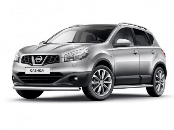 EVA коврики на Nissan Qashqai 2006 - 2013 (Cборка Великобретания)