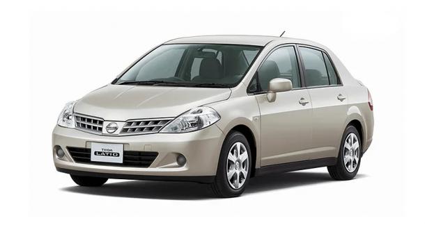 EVA коврики на Nissan Tiida (правый руль) 2004 - 2015
