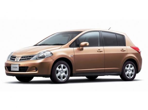 EVA коврики на Nissan Tiida I 2004 - 2015