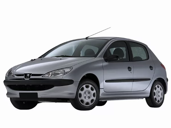 EVA коврики на Peugeot 206 1998 - 2012