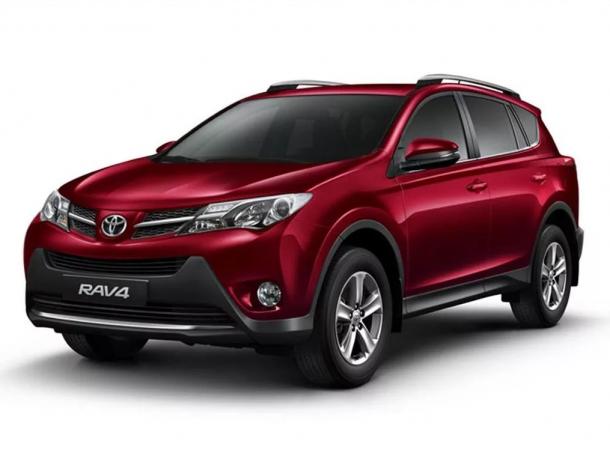 EVA коврики на Toyota RAV 4 IV (XA40) 2013 - 2020