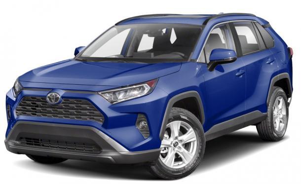 EVA коврики на Toyota RAV 4 IV (XA50) 2019 - наст. время